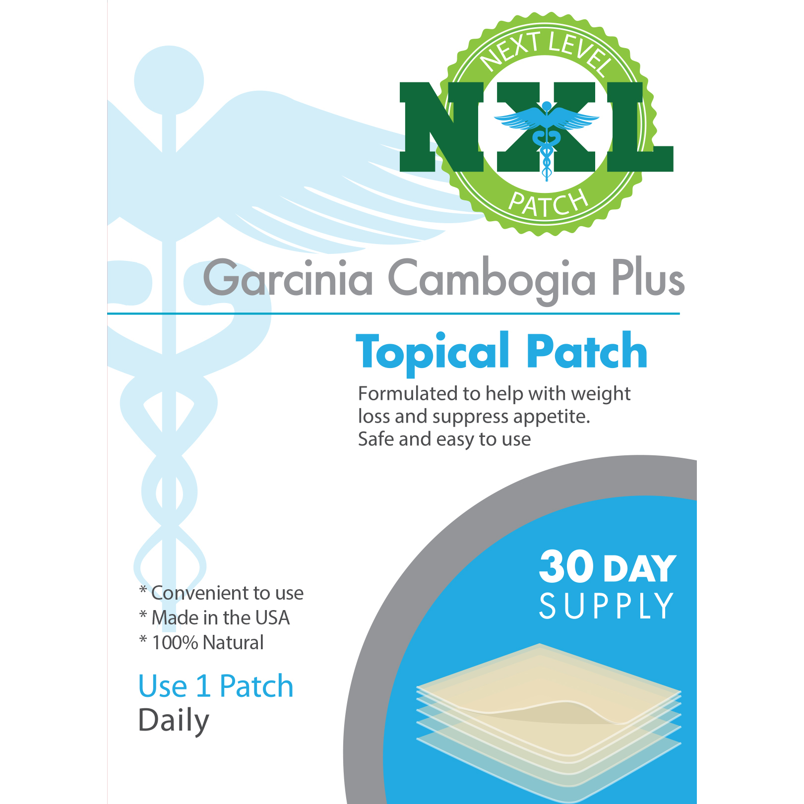 Garcinia Cambogia Plus Nxl Patches